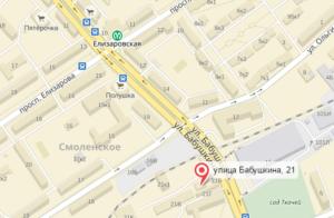 офис Фаберлик в Санкт-Петербурге на карте