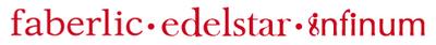 логотип фаберлик, эдельстар, инфинум
