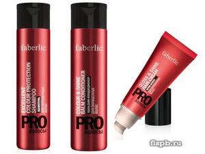 Сохранение и восстановление цвета окрашенных волос от Фаберлик