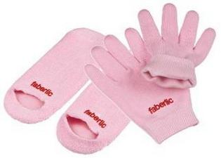 Увлажняющие силиконовые перчатки и носки 11005, 11006