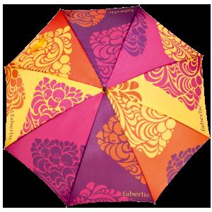 Полуавтоматический зонт трость Фаберлик 9657