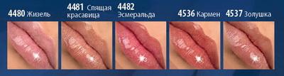 оттенки блеска для губ блестящий выход Фаберлик
