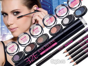 E2E макияж глаз