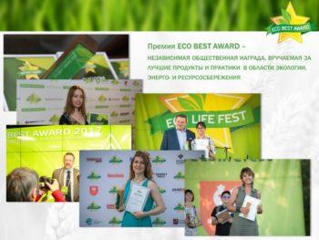 Продукт года ECO BEST AWARD 2019