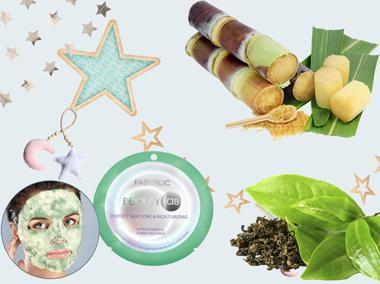 Зеленая экспресс маска серии Beautylab