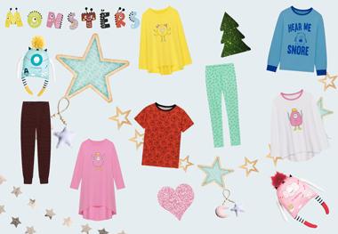 Детская домашняя одежда и пижамы Monsters